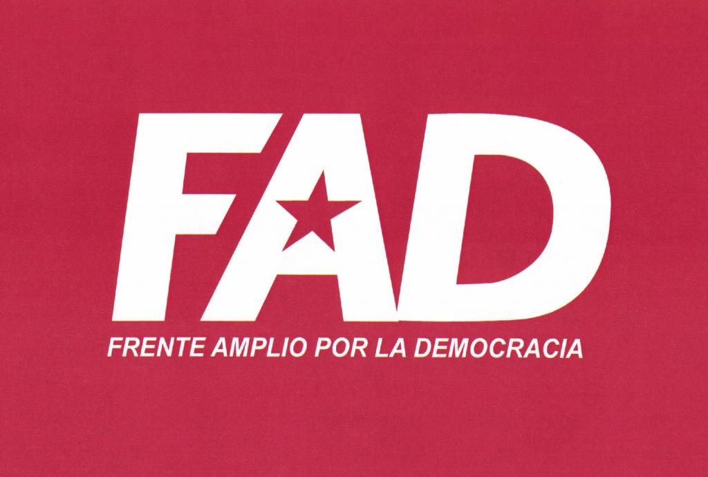 logo Frente Amplio por la Democracia